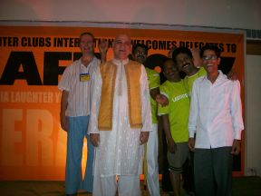 All India Laughter Conference, Kerela India, 2007